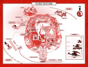 Great Zoo of China Map Matthew Reilly